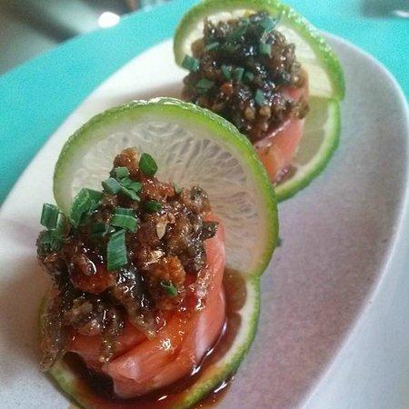 Ikibana Restaurant & Lounge Paralelo: Gunkan Crujiente