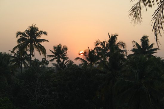 Palm Beach Resort: sunrise seen from the rooftop
