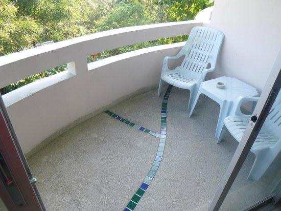 Chaba Samui Resort: Balcony