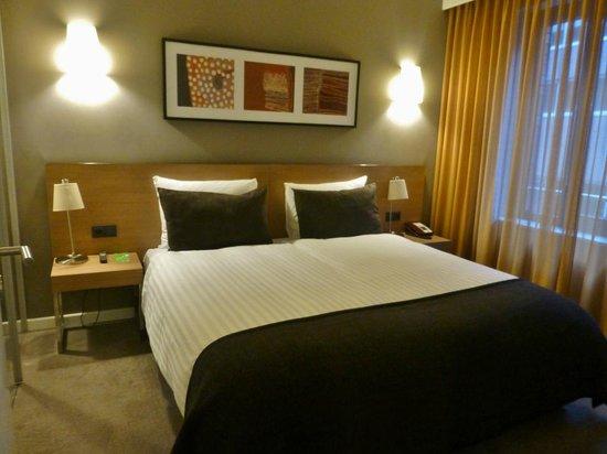 Adina Apartment Hotel Hamburg Michel: Schlafraum