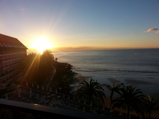 Dunas Don Gregory: sunrise from our balcony