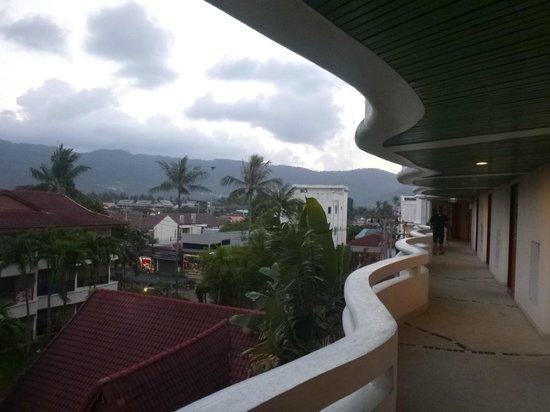 Chaba Samui Resort: View from balcony