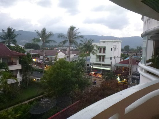 Chaba Samui Resort: View from 4th floor