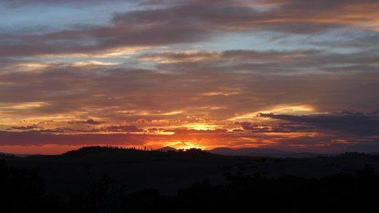 Agriturismo Cerreto: Cerreto Sunset