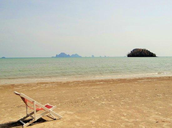 Pan Beach Bungalows: la plage