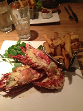 The Grill On The Alley : Lobster Special