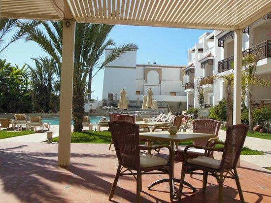 Hotel Timoulay & Spa Agadir: la terrasse du grill