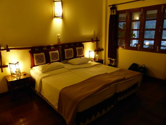 Sanctuary Pakbeng Lodge: la chambre
