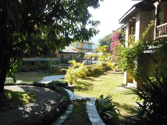 Temple Tree Resort & Spa: vue du balcon