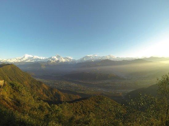 Himalayan Social Journey - Day Tours : Sunrise view from Sarangkot
