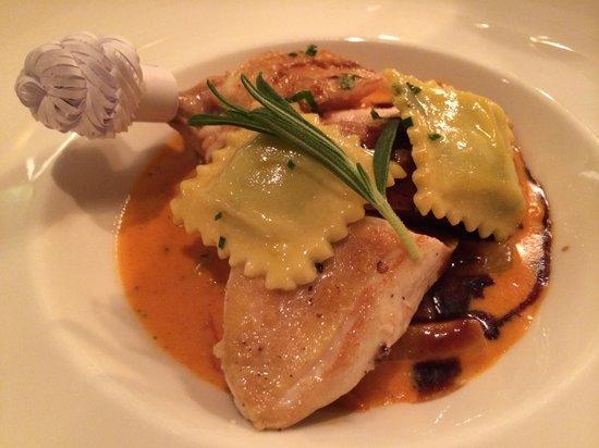 Hotel Fliana: High quality food