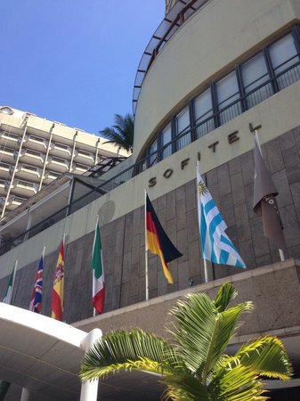Sofitel Rio de Janeiro Copacabana : Frente do hotel