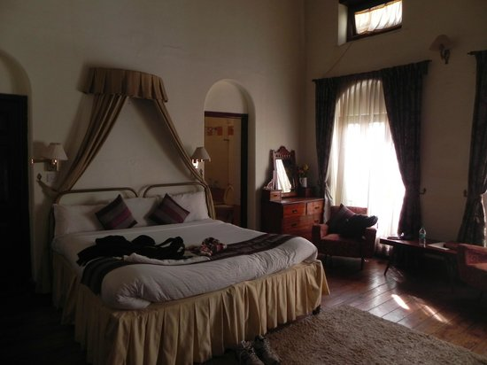 King's Cliff: Cozy bedrooms with a feel of the Raj