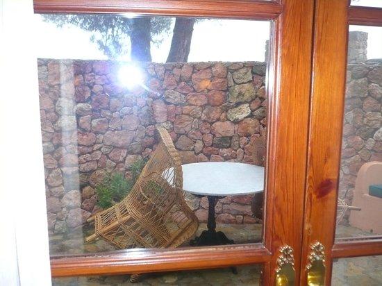 Valldemossa Hotel: Como se ve, magníficas vistas a la Cartuja... Qué engaño!