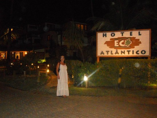 Hotel Eco Atlântico : Fachada do hotel