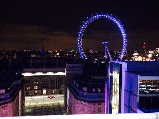 Park Plaza County Hall London: view at night