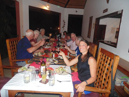 Farakunku Lodges: Birthday party celebration with other guests