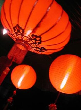 Emerald Green Mens Club: At night look for 5 Chinese Red Lanterns out Front