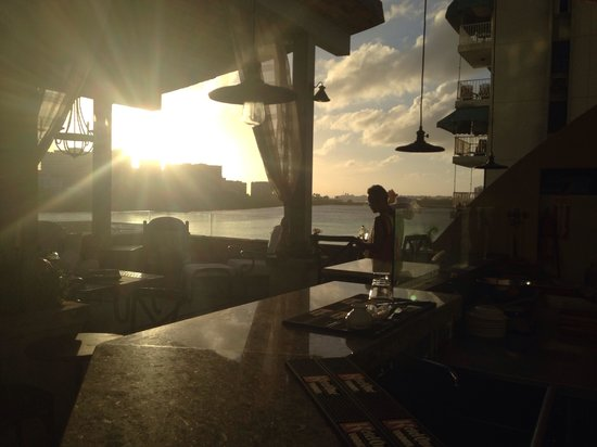 Olive Boutique Hotel : Sunset rooftop