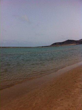 Playa de Las Canteras: reina isabel
