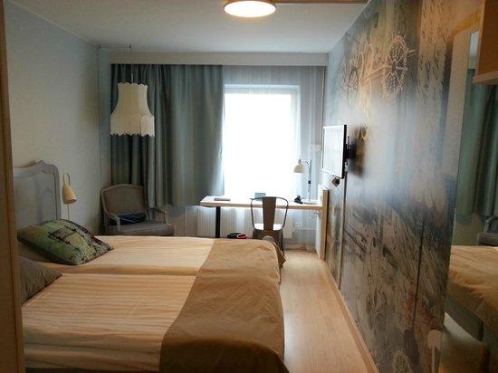 Scandic Malmen: Twin-bed room