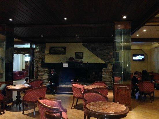 Grand Hotel del Parco: il camino