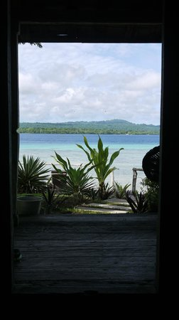 Ratua Private Island: view from bedroom
