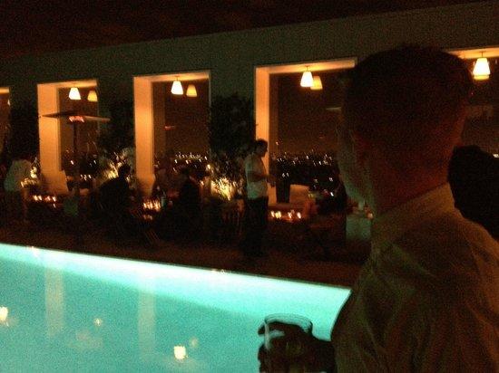 Mondrian Los Angeles Hotel: Sky Lounge