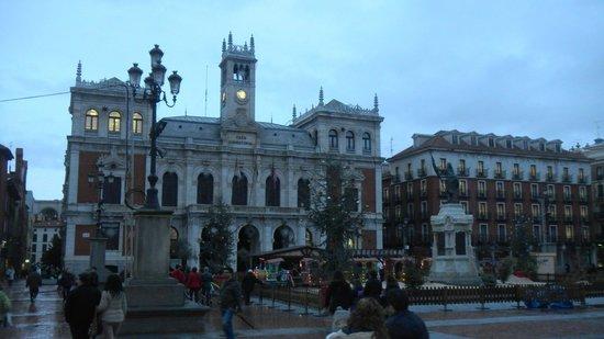 Plaza Mayor de Valladolid: Площадь