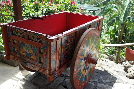 Toad Hall Hotel Arenal: ox cart