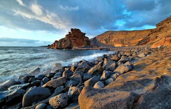 Playa Famara: Лансароте Фамара Canarysurf.ru, солнце здоровье любовь на Лансароте, Канарские острова, Испания