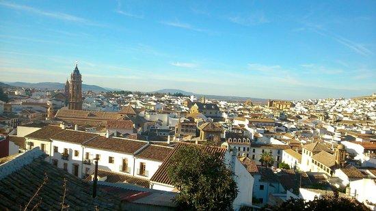 Parador de Antequera: vista desde la Alcazaba