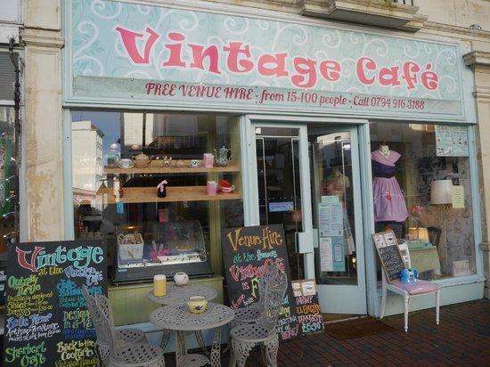 Blot on the sunshine coast review of vintage cafe eastbourne