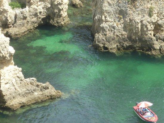 Ponta da Piedade: Lindo, mas a água é fria demais!