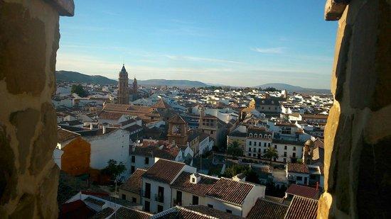 Parador de Antequera: Antequera desde la Alcazaba