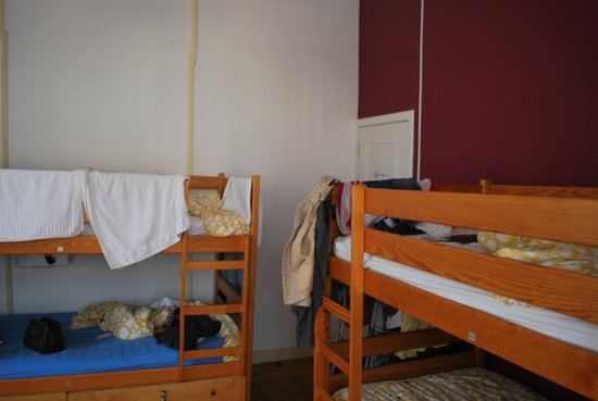 Rossio Hostel: the dorm