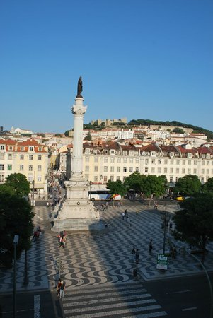 Rossio Hostel: view from the room