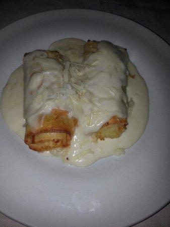 Ristorante Zi'Ntonio: Cannelloni con fonduta