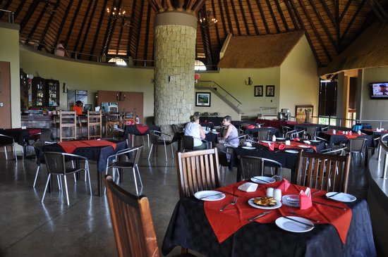 Nkonyeni Lodge & Golf Estate Hotel: Restaurant