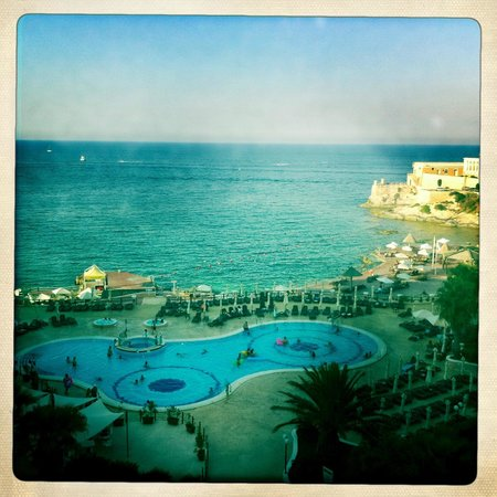 The Westin Dragonara Resort, Malta: View from room