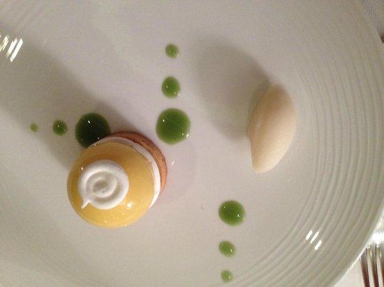 La Pergola : Tarte citron destructurée
