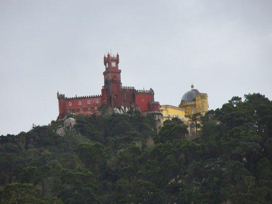 Casa do Valle: Vistas desde la puerta de la habitación del Palacio da Pena
