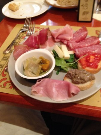 Ted Walker agrees that the best antipasti in Cortona can be found at Caffe Tuscher!