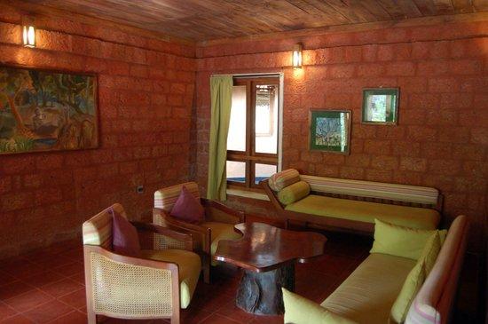 Banasura Hill Resort: sitting room of cottage 302