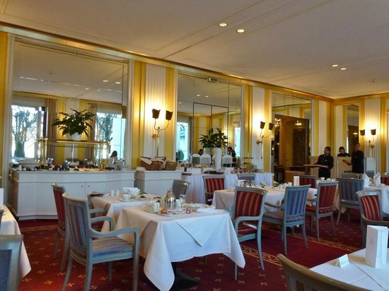 Hotel Atlantic Kempinski Hamburg: Frühstücksraum