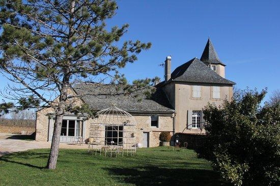 Chateau de Labro : BATIMENT PRINCIPAL