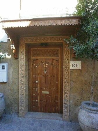 Entrée du RIAD RK
