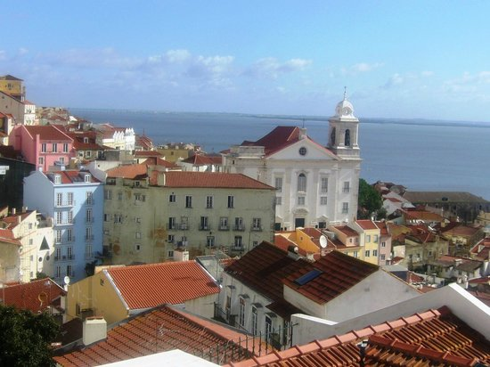 Miradouro de Santa Luzia: Vista desde el Mirador