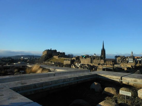Museo Nacional de Escocia: Beautiful views from the roof terrace
