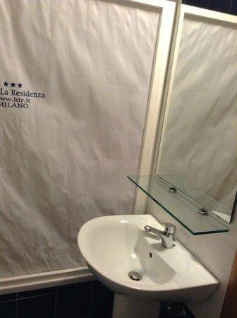 Eco-Hotel La Residenza: ванная